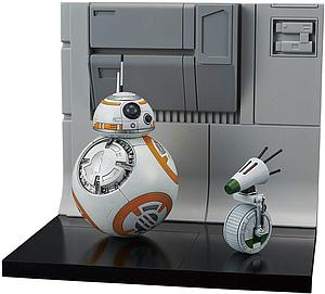 Star Wars 1/12 Scale Model Kit: BB-8 & D-O Diorama Set