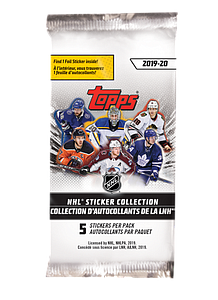 2019-20 NHL Sticker Collection Booster Pack