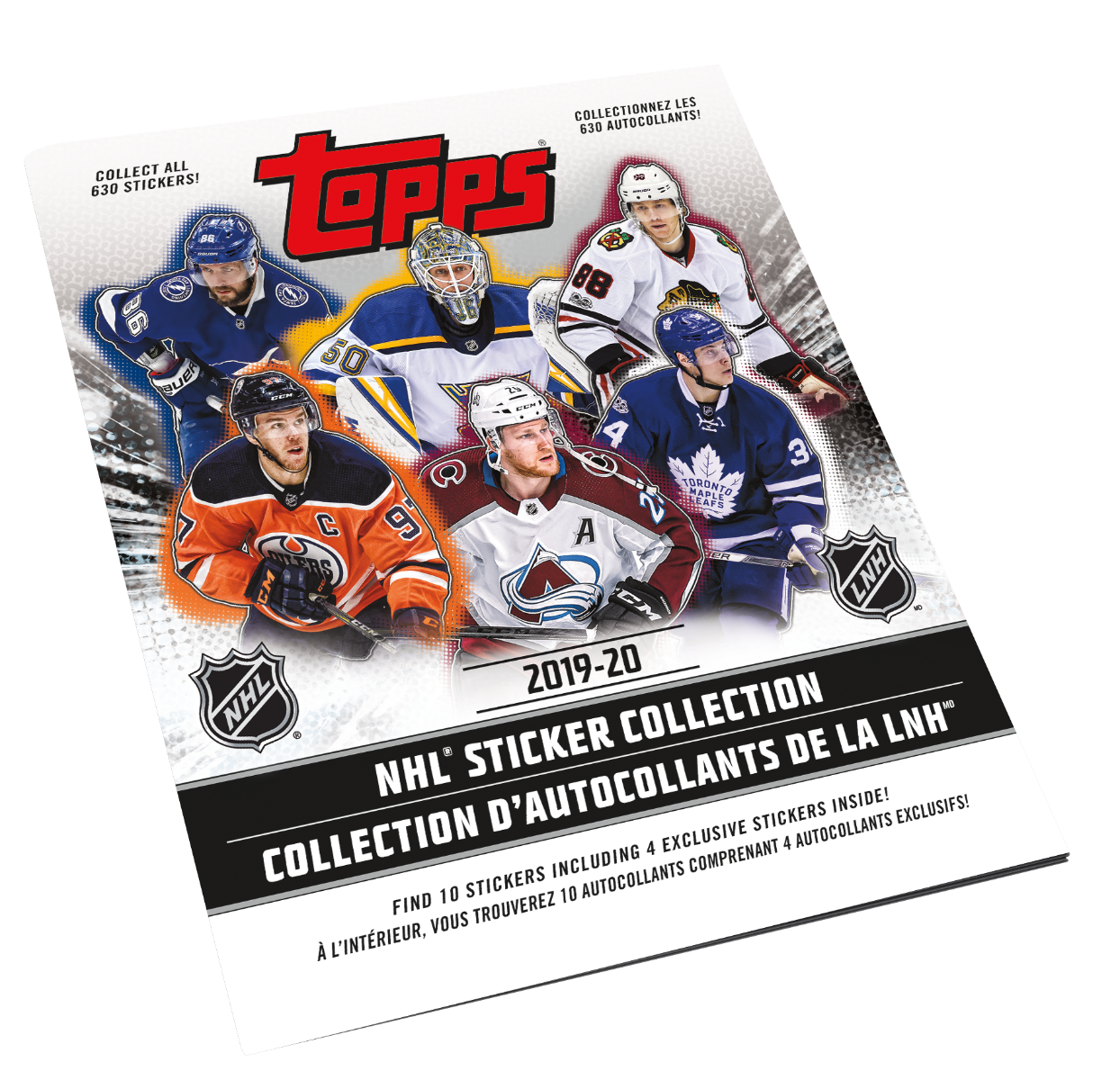 2019-20 NHL Sticker Collection Album