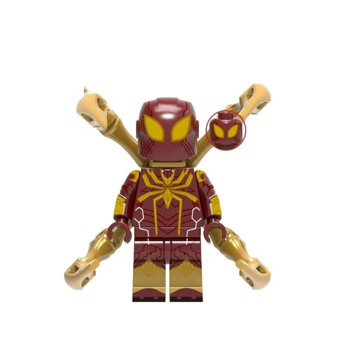 Marvel Comics SuperHeroes Minifigure: Iron Spider [Spider-man: Far From Home] (ML-247)
