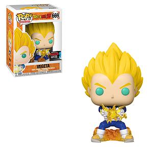 Pop! Animation Dragon Ball Z Vinyl Figure Vegeta (Final Flash) #669 2019 Fall Convention Exclusive