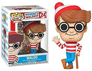 Pop! Books Where's Waldo Vinyl Figure Waldo #24