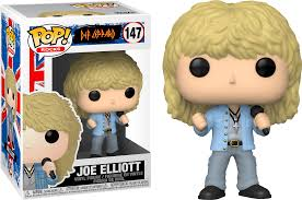 Pop! Rocks Def Leppard Vinyl Figure Joe Elliott #147