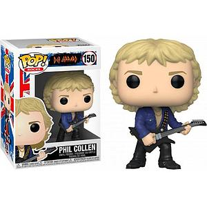 Pop! Rocks Def Leppard Vinyl Figure Phil Collen #150