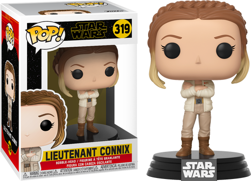 Pop! Star Wars The Rise of Skywalker Vinyl Bobble-Head Lieutenant Connix #319