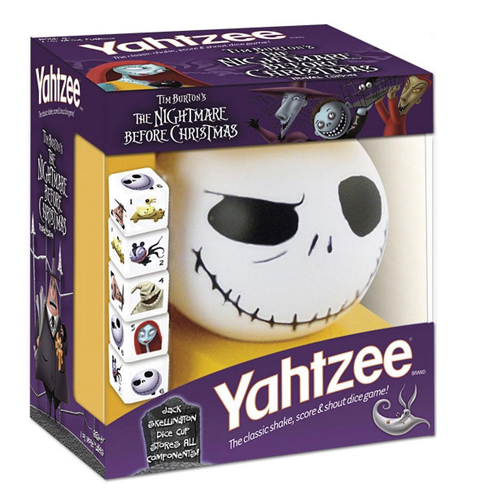 Yahtzee: Nightmare Before Christmas   www.toysonfire.ca