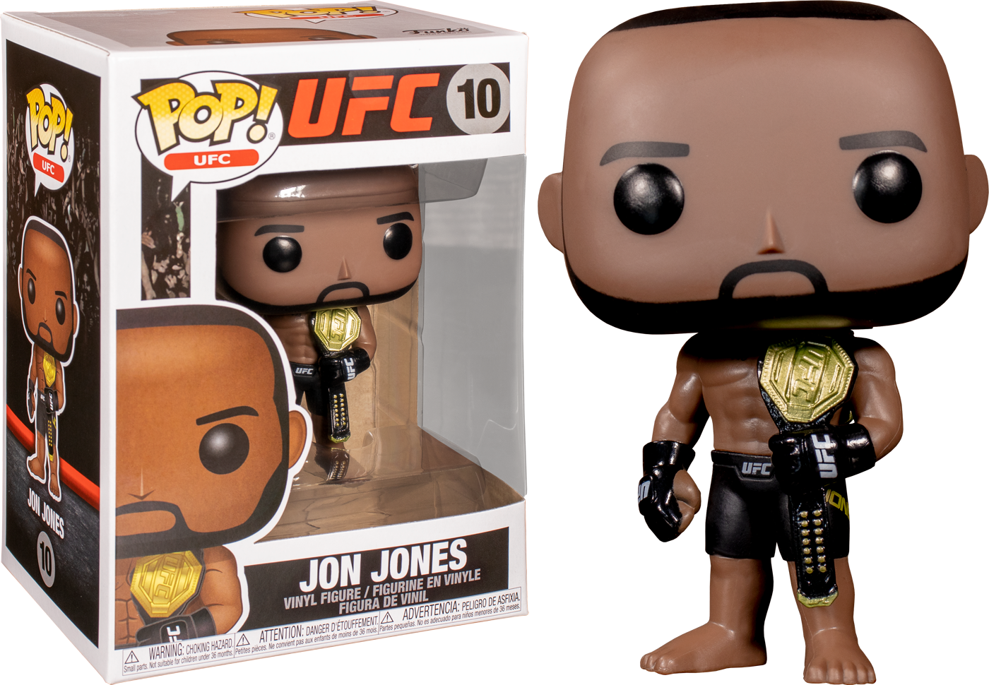 Pop! UFC Vinyl Figure Jon Jones #10