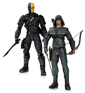 DC Arrow TV Series 2-Pack: Oliver Queen & Deathstroke