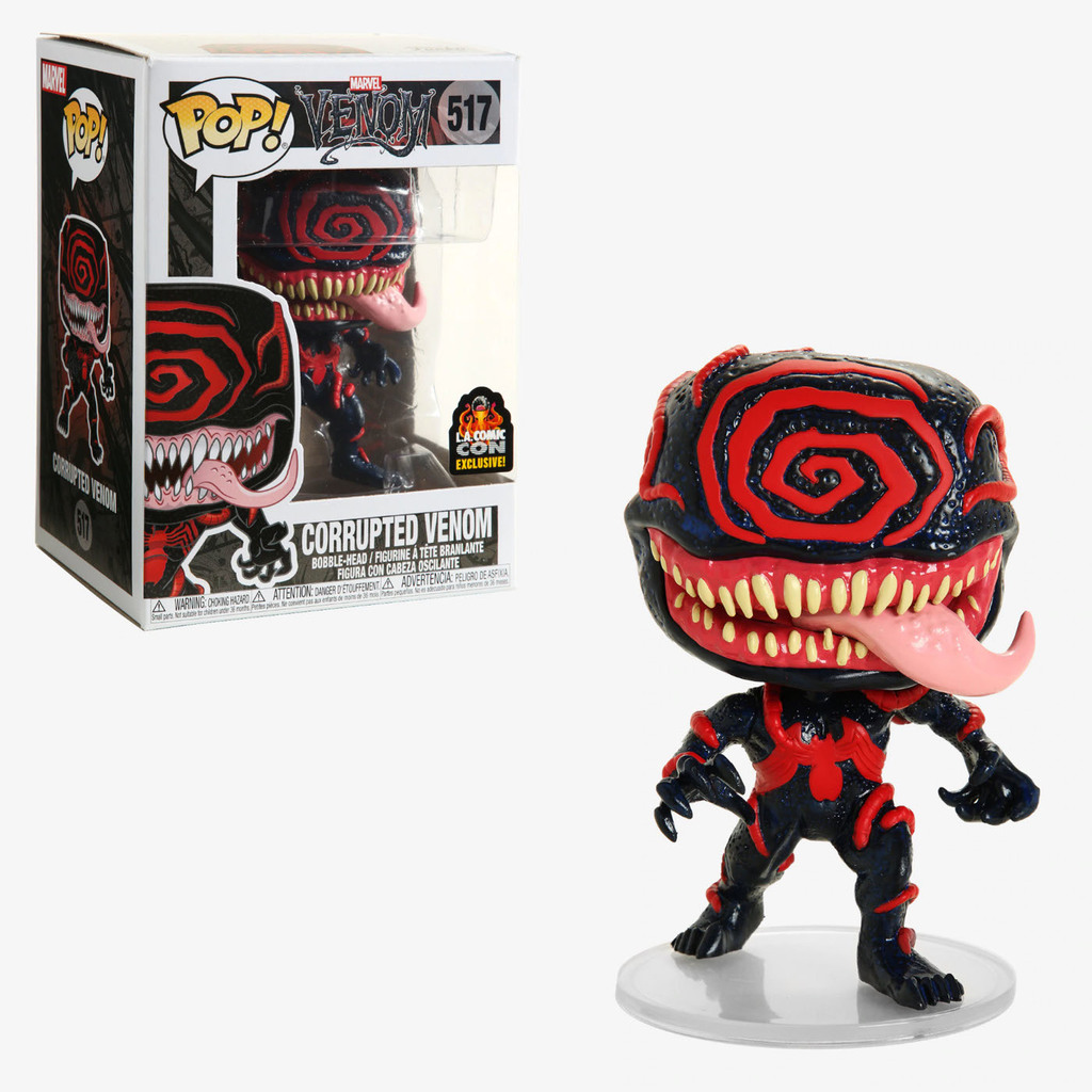 Pop! Marvel Venom Vinyl Bobble-Head Corrupted Venom #517 LA Comic Con Exclusive