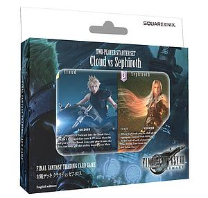 Final Fantasy Trading Card Game: Cloud vs Sephiroth Two-Player Starter Set