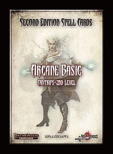 Pathfinder Roleplaying Game: Spell Cards Second Edition - Arcane Basic