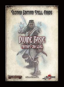 Pathfinder Roleplaying Game: Spell Cards - Divine Basics (Second Edition)