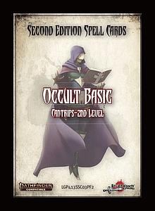 Pathfinder Roleplaying Game: Spell Cards - Occult Basics (Second Edition)