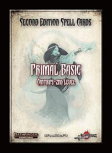 Pathfinder Roleplaying Game: Spell Cards - Primal Basics (Second Edition)