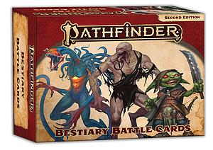 Pathfinder Bestiary Battle Cards (Second Edition)
