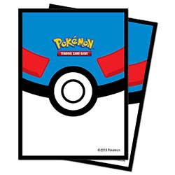 Pokemon Great Ball Standard Card Sleeves (66mm x 91mm)