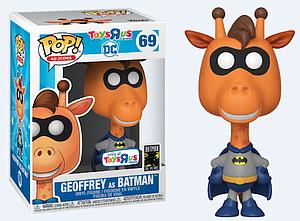Pop! Ad Icons Vinyl Figure Geoffrey as Batman #69 Toys R Us Canada Exclusive