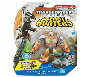 Transformers Prime Beast Hunters Deluxe Class: Ratchet (Canadian Packaging)