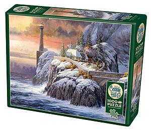 Puzzle: Winter Lighthouse
