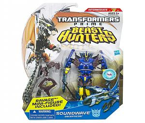 Transformers Prime Beast Hunters Deluxe Class: Soundwave (Canadian Packaging)