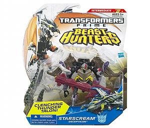 Transformers Prime Beast Hunters Deluxe Class: Starscream (Canadian Packaging)
