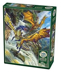 Puzzle: Waterfall Dragons