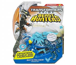 Transformers Prime Beast Hunters Deluxe Class: Skystalker (Canadian Packaging)