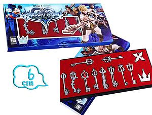 Kingdom Hearts Birth By Sleep Pendant Box Set