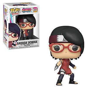 Pop! Animation Boruto Naruto Next Generations Vinyl Figure Sarada Uchiha #672