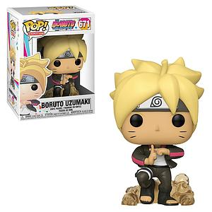 Pop! Animation Boruto Naruto Next Generations Vinyl Figure Boruto Uzumaki #671