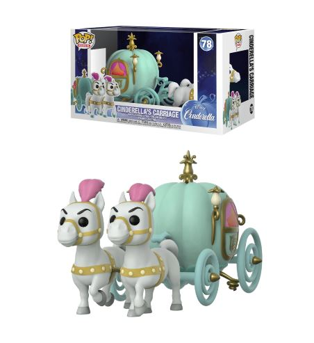 Pop! Rides Disney Cinderella Vinyl Figure Cinderella's Carriage #78