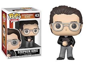 Pop! Icons Stephen King Vinyl Figure Stephen King #43