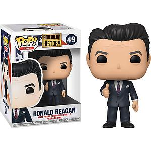 Pop! Icons American History Vinyl Figure Ronald Reagan #49