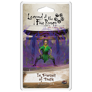 Legend of the Five Rings: The Card Game - In Pursuit of Truth Dynasty Pack