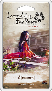 Legend of the Five Rings: The Card Game - Atonement Dynasty Pack