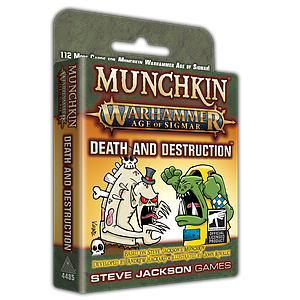 Munchkin: Warhammer Age of Sigmar - Death and Destruction