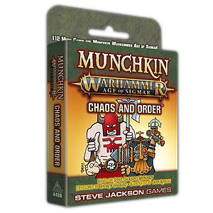 Munchkin: Warhammer Age of Sigmar - Chaos and Order