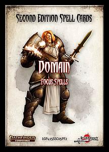 Pathfinder Roleplaying Game: Spell Cards - Domain Focus Spells (Second Edition)