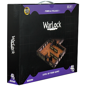 Warlock Dungeon Tiles - Town and Country