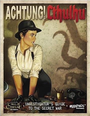 Achtung! Cthulhu: Investigators Guide to the Secret War