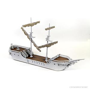 Dungeons & Dragons Nolzur's Marvelous Unpainted Miniatures: The Falling Star Sailing Ship