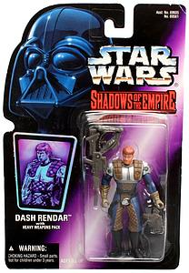 "Star Wars Shadows of the Empire 3.75"" Action Figure Dash Rendar"