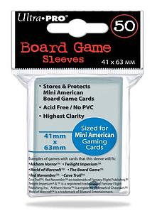 Card Sleeves Board Game Mini American