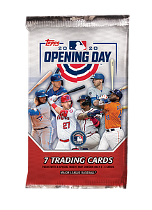 2020 MLB Baseball Opening Day Booster Pack