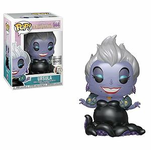 Pop! Disney The Little Mermaid Vinyl Figure Ursula (with Eels) (Metallic) #568 Summer Expo Exclusive