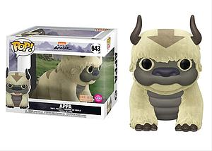 "Pop! Animation Avatar The Last Airbender Vinyl Figure 6"" Appa (Flocked) #643 BoxLunch Exclusive"
