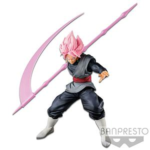 Dragon Ball Z Banpresto World Figure Colosseum (BWFC) Fan Award Goku-Black (Super Saiyan Rose)