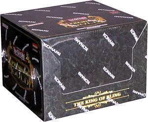 YuGiOh Trading Card Game Premium Gold 1: King of the Bling Display (5 Mini Boxes)