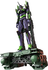 Neon Genesis Evangelion Real Grade 1/144 Scale Model Kit: Evangelion Unit-01 Transport Platform Set