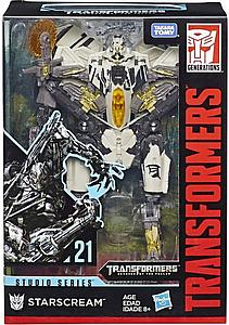 Transformers Generations Studio Series Revenge of the Fallen Voyager Class Starscream #21
